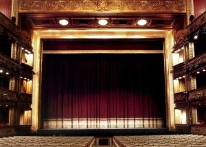 Escenario del Teatro de La Zarzuela