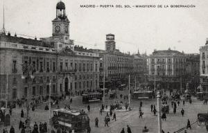 La Puerta del Sol a finales del siglo XIX