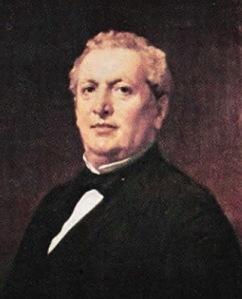 Retrato de Emilio Lhardy obra de Federico Madrazo (1867)