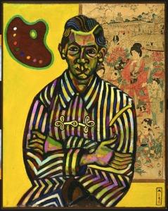 Retrato de Enric Cristofol Ricar -  Joan Miró (1917)