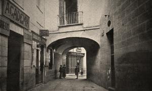 Pasadizo de san Ginés en 1923