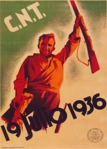 Cartel CNT 19 de julio de 1936