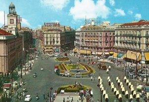Puerta del Sol - años 60 (Comitiva de presentacion de credenciales)