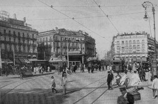 Puerta del Sol antes de 1920