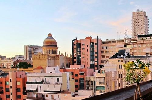 Madrid desde las alturas los mejores miradores y terrazas for Terraza sabatini madrid