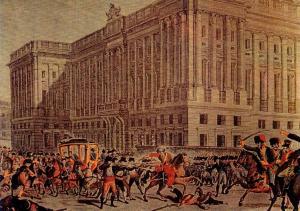 Salida de palacio del Infante
