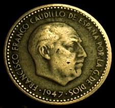 1 Peseta Franco 1947