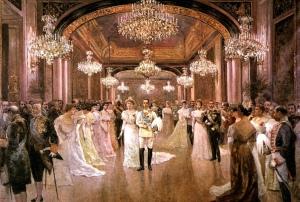 Alfonso XIII y Dª Victoria Eugenia