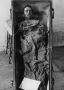 Cadaver de Mateo Morral