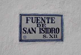 Fuente de San Isidro.