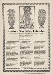 Gozos a San Isidro Labrador