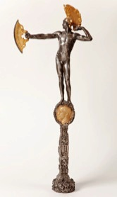 Hacha botadura acorazado Alfonso XIII