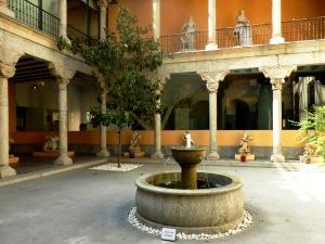 Patio Renacentista del Museo de San Isidro.