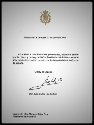 Abdicación Juan Carlos I (2)