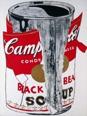 Big Torn Campbell's Soup Can - Andy Warhol