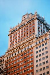 Edificio España - Fachada