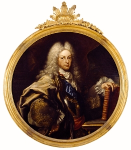 Felipe V - Miguel Jacinto Meléndez - Óleo sobre lienzo