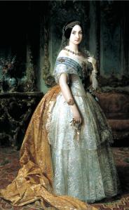 La infanta Luisa Fernanda de Borbón - Federico de Madrazo