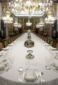 Mesa del Comedor de Gala del Palacio Real