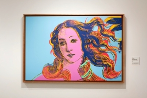 Details of Renaissance Paintings (Sandro Botticelli, Birth of Venus)  - Andy Warhol