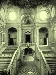 Palacio Real. Escalera Principal.