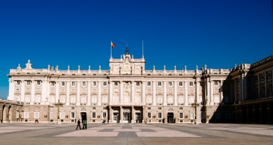 Palacio Real - Fachada sur