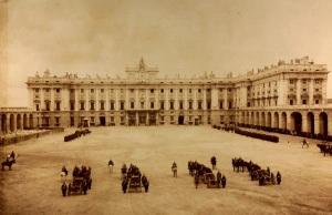Palacio Real - Plaza de la Armeria 1887