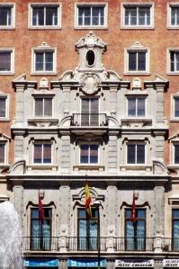 Portada Neo barroca del Edificio España