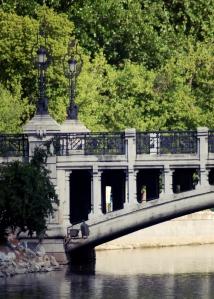 Puente de la Reina Victoria - Farolas