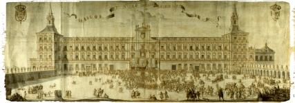 Real Alcazar - Aclamación Felipe V
