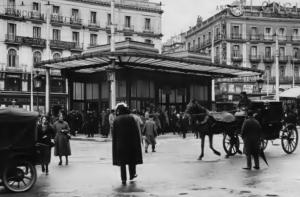 templete Puerta del Sol - 1919