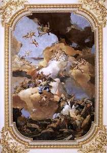 Venus encomendando a Vulcano que forje las armas para Eneas - Giovanni Battista Tiepolo