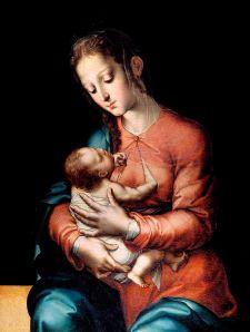 Virgen con el Niño - Luis de Morales