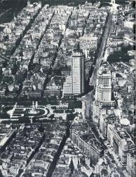 Vista aerea de la plaza de España