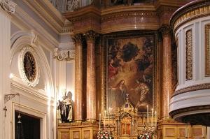 Altar mayor del Real Monasterio de la encarnación