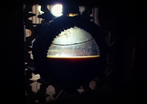 Ampolla conteniendo la sangre de San Pantaleón en Ravello, Italia