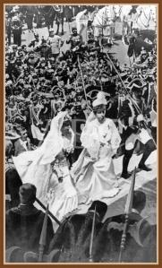Boda de Alfonso XIII y Dª. Victoria Eugenia de Battemberg