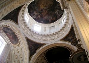 Cúpula de la iglesia del Real Monasterio de la Encarnación