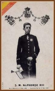Coronación Alfonso XIII