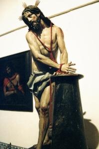 Cristo atado a la columna de Gregorio Fernández