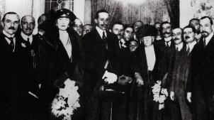 D. Alfonso XIII y Dª. Victoria Eugenia