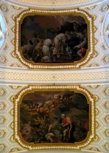 Detalle de la boveda del Real Monasterio de la Encarnación