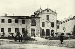 El Real Monasterio de la Encarnación en 1915