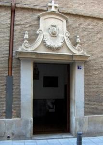 Entrada del convento de San Plácido