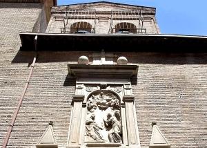 Fachada de la Iglesia de San Plácido