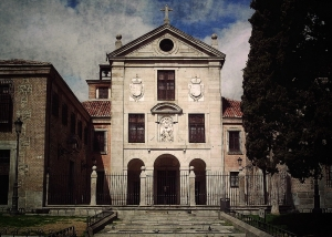 Fachada del Real Monasterio de la Encarnación