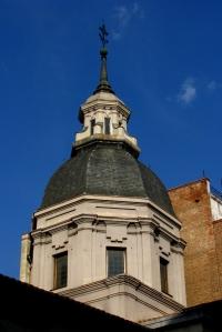 Iglesia de San Sebastián - Cupula de la capilla de los Arquitectos