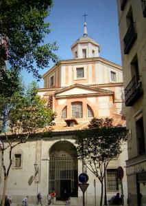 Iglesia de San Sebastián - Entrada calle Atocha