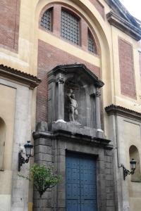 Iglesia de San Sebastián - Entrada calle San Sebastián