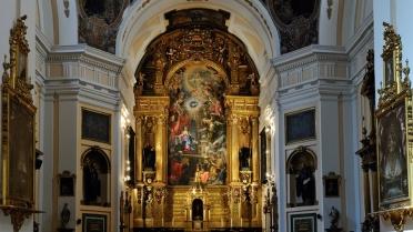Interior de la Iglesia del Convento de San Plácido